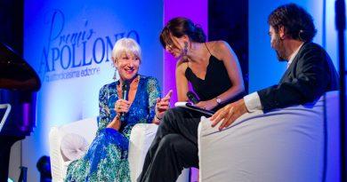 Premio Apollonio 2018 a Helen Mirren